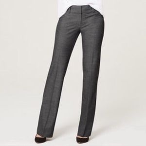 New Ann Taylor Loft Marisa Trouser gray pants
